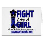 Fight Like A Girl 1.2 Arthritis Cards