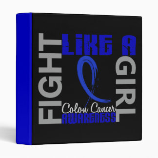 Fight Like A Girl 3.3 Colon Cancer Binders