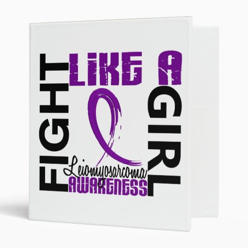 Fight Like A Girl 3.3 Leiomyosarcoma 3 Ring Binders