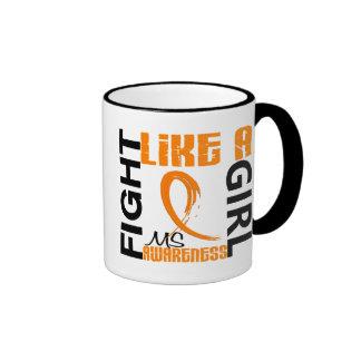 Fight Like A Girl 3.3 MS aka Multiple Sclerosis Mugs