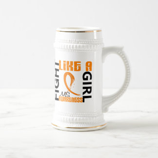 Fight Like A Girl 3.3 MS aka Multiple Sclerosis Coffee Mugs
