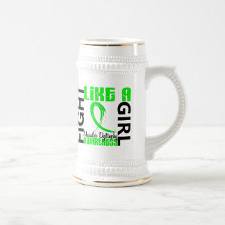 Fight Like A Girl 3.3 Muscular Dystrophy 18 Oz Beer Stein