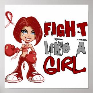 Fight Like a Girl 42.8 Amyloidosis Print