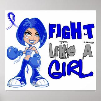 Fight Like a Girl 42.8 Dysautonomia Posters