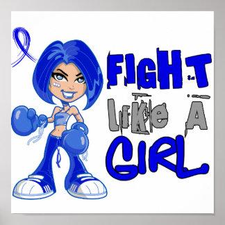 Fight Like a Girl 42.8 Erb's Palsy Print