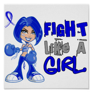 Fight Like a Girl 42.8 Reye's Syndrome Print