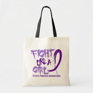 Fight Like A Girl 5 3 Cystic Fibrosis Canvas Bags