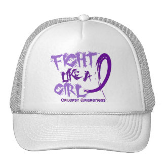 Fight Like A Girl 5.3 Epilepsy Trucker Hat