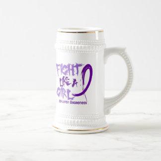 Fight Like A Girl 5.3 Epilepsy Coffee Mug