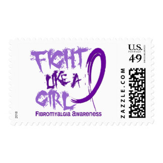 Fight Like A Girl 5.3 Fibromyalgia Stamps