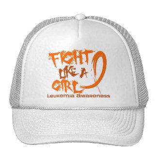 Fight Like A Girl 5.3 Leukemia Hats