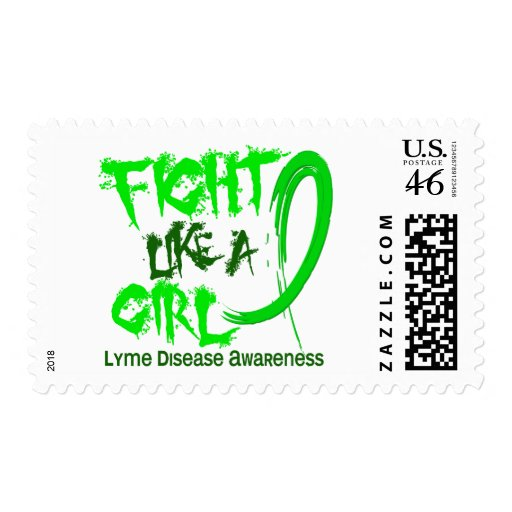 Fight Like A Girl 5.3 Lyme Disease Stamps