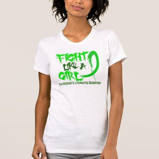 Fight Like A Girl 5.3 Non-Hodgkin's Lymphoma Tshirts