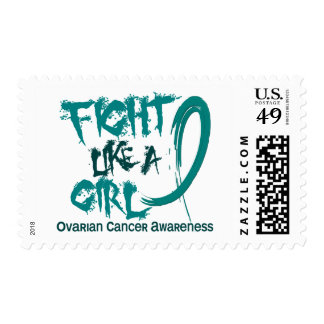 Fight Like A Girl 5.3 Ovarian Cancer Stamps