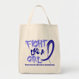 Fight Like A Girl 5.3 Rheumatoid Arthritis Tote Bags