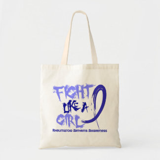 Fight Like A Girl 5.3 Rheumatoid Arthritis Canvas Bags