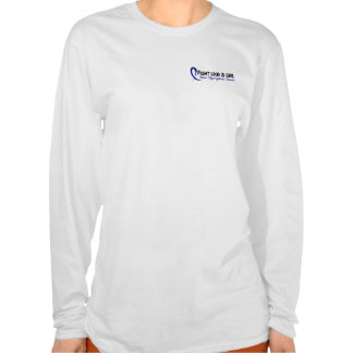 Fight Like A Girl 6.3 CFS Chronic Fatigue Syndrome Shirts