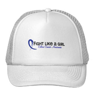 Fight Like A Girl 6.3 Colon Cancer Trucker Hat