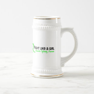 Fight Like A Girl 6.3 Muscular Dystrophy 18 Oz Beer Stein