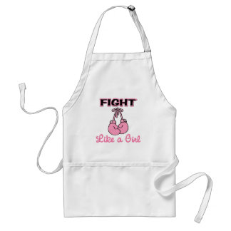 Fight like a Girl Adult Apron