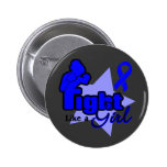Fight Like a Girl - Anal Cancer Button