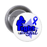 Fight Like a Girl - Anal Cancer Pins