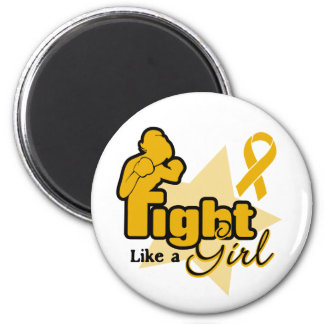 Fight Like a Girl - Appendix Cancer Magnets