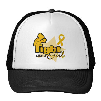 Fight Like a Girl - Appendix Cancer Trucker Hat
