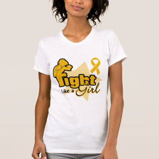 Fight Like a Girl - Appendix Cancer Tshirts