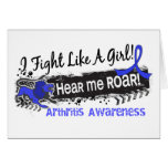 Fight Like A Girl Arthritis 19.1 Greeting Card