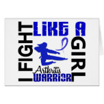 Fight Like A Girl Arthritis 3.2 Greeting Card