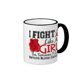 Fight Like A Girl Blood Cancer 15 6 Coffee Mug