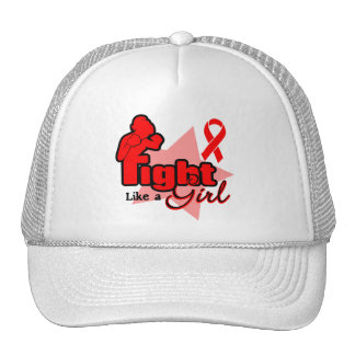 Fight Like a Girl - Blood Cancer Hats