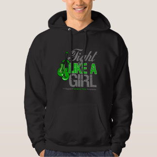 Fight Like a Girl Boxing - Cerebral Palsy Hooded Sweatshirts