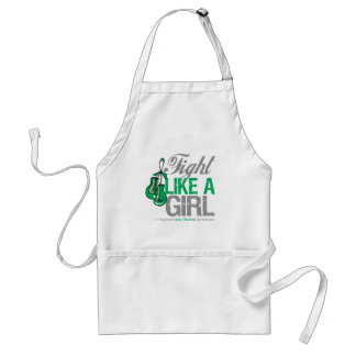 Fight Like a Girl Boxing - Liver Disease Apron