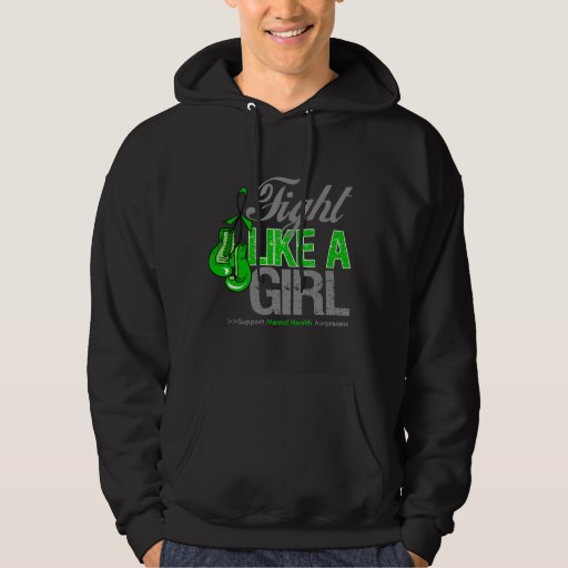 Fight Like a Girl Boxing - Mental Health Pullover