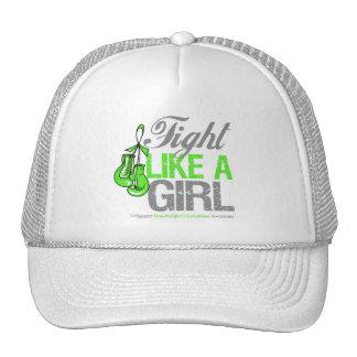 Fight Like a Girl Boxing - NonHodgkins Lymphoma Mesh Hats