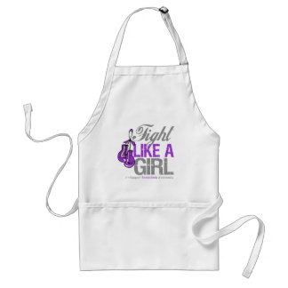 Fight Like a Girl Boxing - Sarcoidosis Adult Apron
