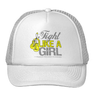 Fight Like a Girl Boxing - Sarcoma Trucker Hat