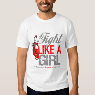 Fight Like a Girl Boxing - Stroke Shirts