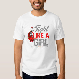 Fight Like a Girl Boxing - Stroke T-shirt