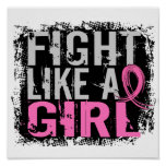 Fight Like a Girl Breast Cancer 31.8 Print