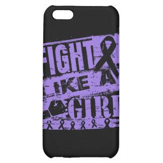 Fight Like a Girl BurnOut Hodgkin's Disease iPhone 5C Case