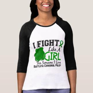 Fight Like A Girl Cerebral Palsy 15.6 Shirts
