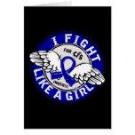 Fight Like A Girl CFS 16.5 Card