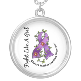Fight Like A Girl Chiari Malformation 29.4 Personalized Necklace