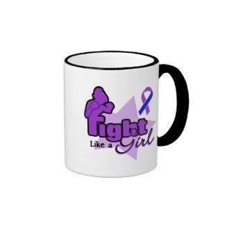 Fight Like a Girl - Childhood Stroke Mugs