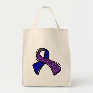 Fight Like A Girl - Childhood Stroke Tote Bag