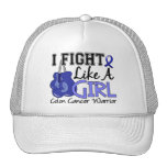 Fight Like A Girl Colon Cancer 15.2 Trucker Hat