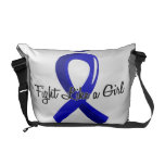 Fight Like A Girl Colon Cancer 41.8 Messenger Bag